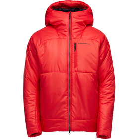 Black Diamond Belay Parka Homme, hyper red